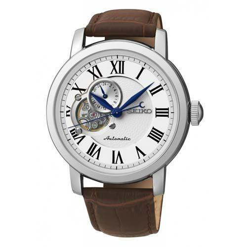 Seiko SSA231K1. Reloj Automático con correa de piel.