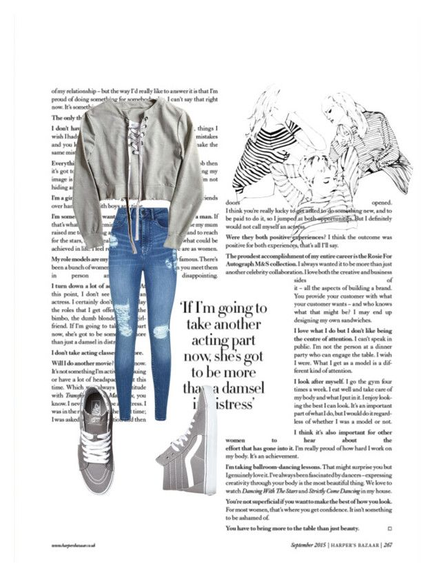 """"""""""" by vensku on Polyvore featuring Lipsy and Vans"""
