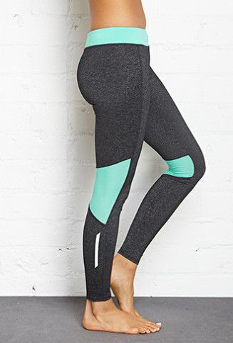 Contrast Panel Performance Leggings | FOREVER 21 - 2000062511