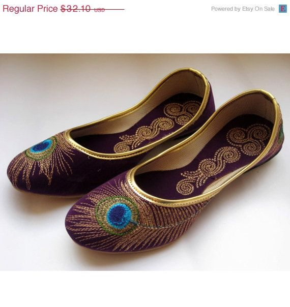 FREE SHIPPING Purple Shoes/Gold Shoes/Purple by FootSoles on Etsy, $32.10