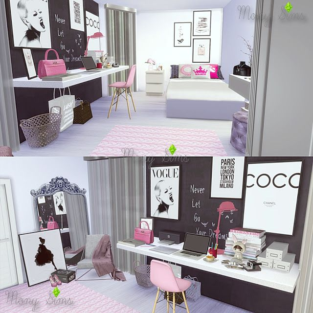 Mony Sims: Download (In the video description) : A Little Pink, Please Bedroom