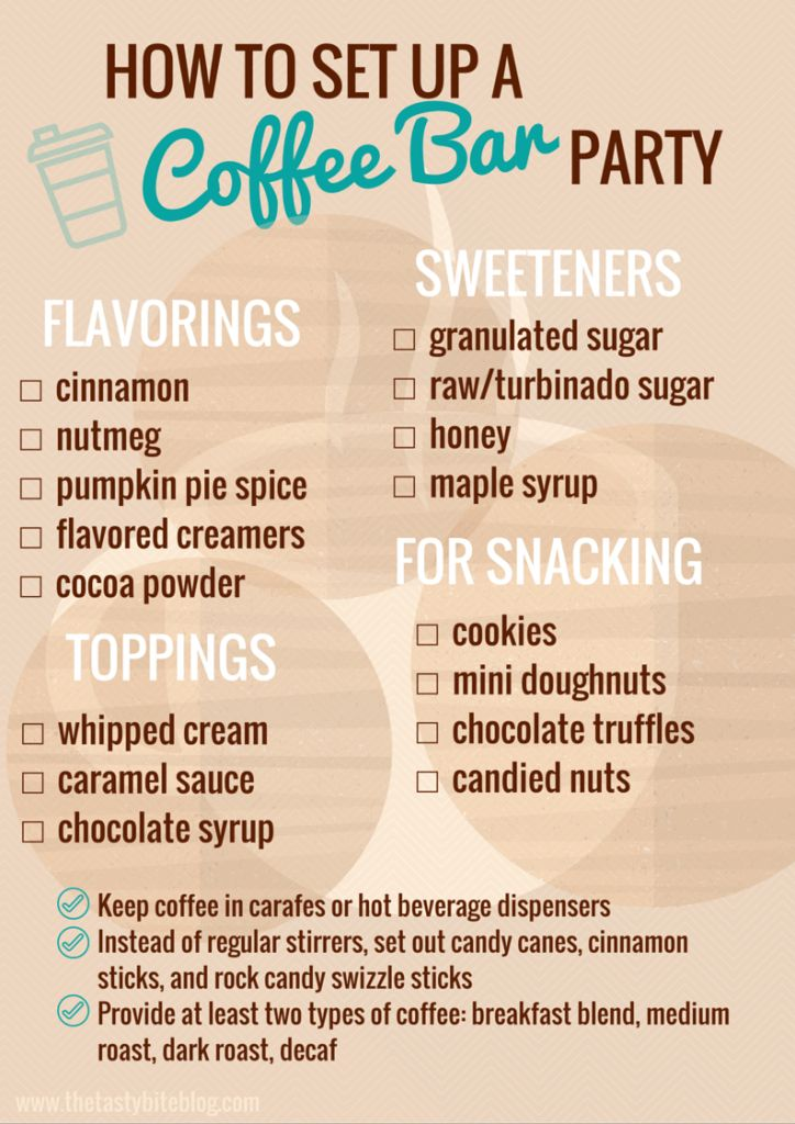 How To Set Up a Coffee Bar Party #OREOThinsAreIn ad