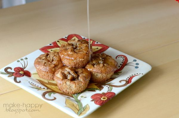 pecan pie cupcakes with rum glaze... recipe