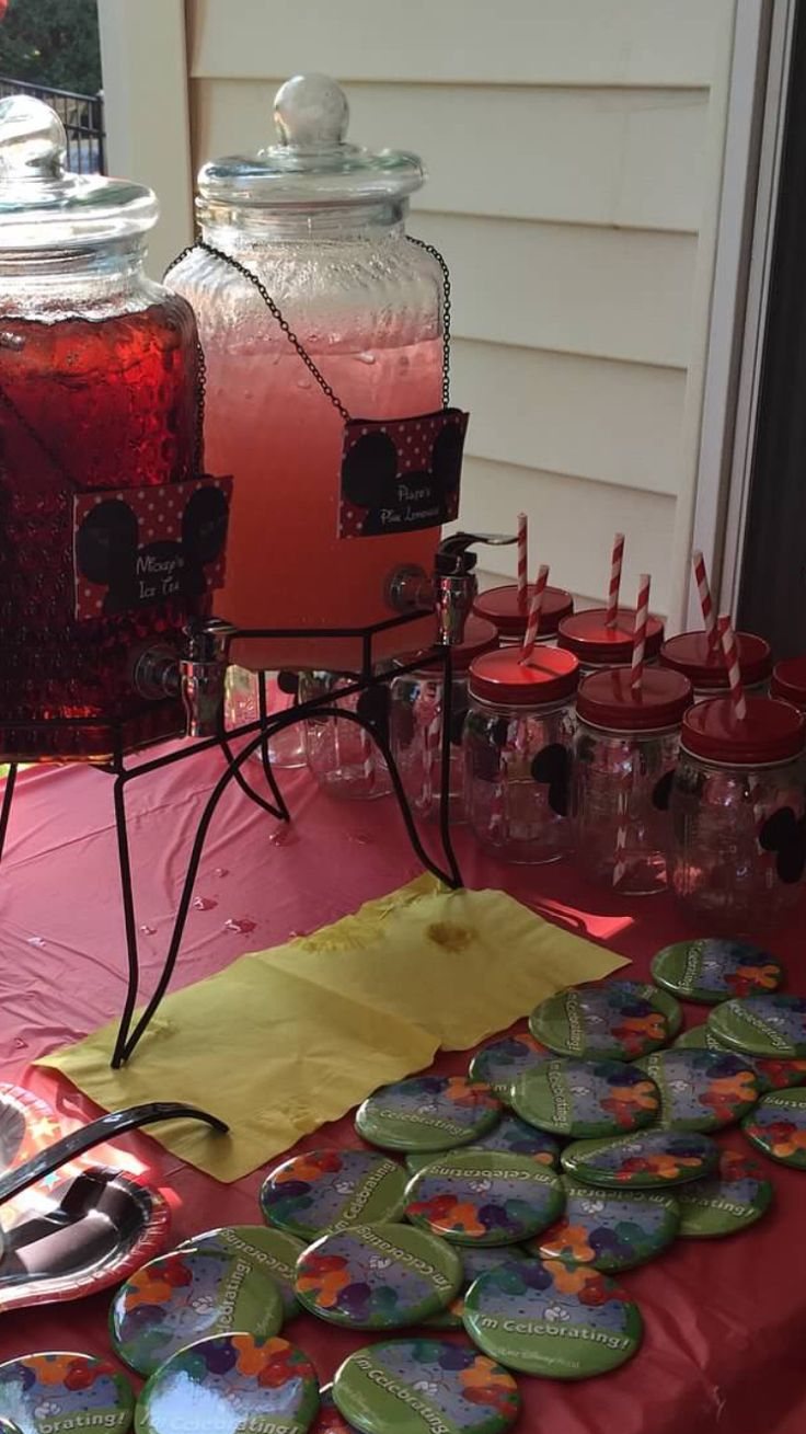 21 best mickey mouse 1st birthday bbq images on pinterest mice