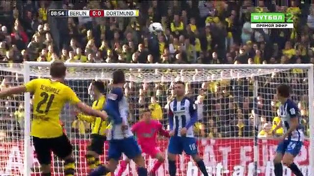 VIDEO Hertha Berlin 2 - 1 Borussia Dortmund HIGHLIGHTS 11.03.2017