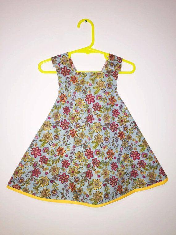Pinafore Dress  Size 2t by SewNSewsDesigns on Etsy