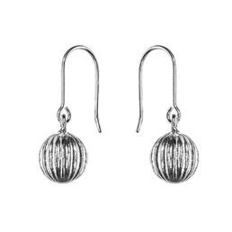 Ritva Liisa Pohjalainen - Kehrä (hanging earrings) NordicJewel.com