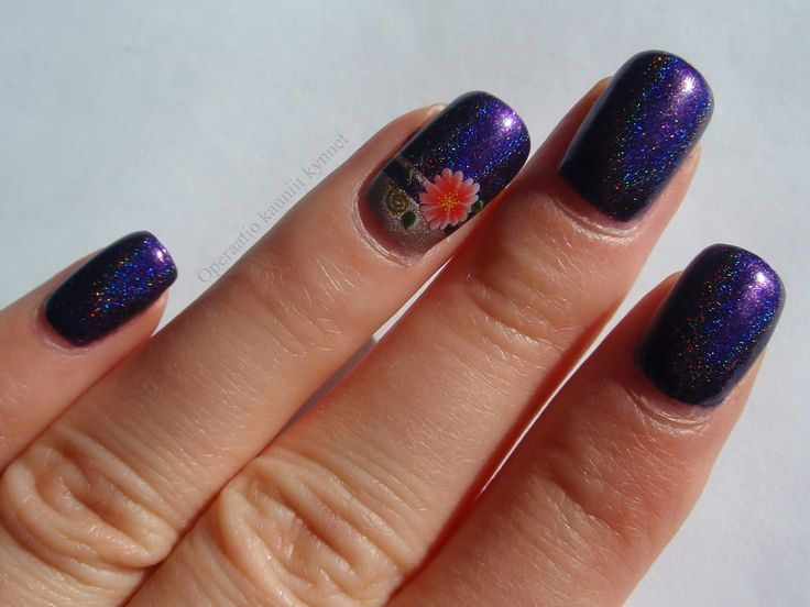 ILNP Purple Plasma & A-England Her Rose Adagio with Water decal
