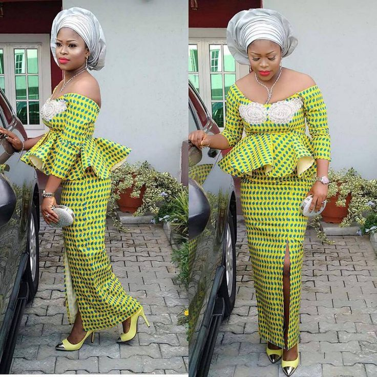 ASO EBI STYLES FOR THE PARTY POPPERS