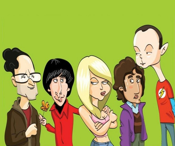 The big bang theory cartoon porn rousing for name the big gang bang theory rar