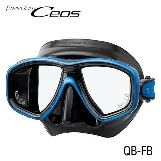 Tusa M 212 Freedom Ceos Mask With An Anti Fogger As A Free Gift Dive Mask Diving Dive Shop