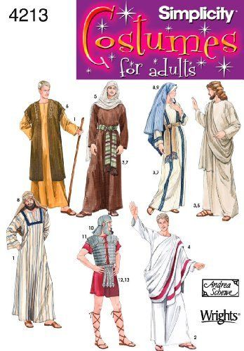 Biblical Costume Patterns - Christmas Nativity Costumes
