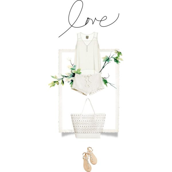 """Love White"" by essenceve on Polyvore"