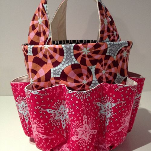 Bingo Bag Sewing Pattern | Here's my latest creation. A new bag for all my bingo supplies. I'm ...