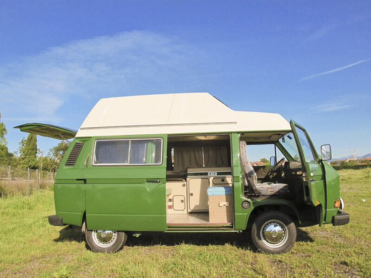 Hello my name is El Stanco ,I'm fully outfitted for excursions to beautiful destination! VW T3 Westfalia campervan