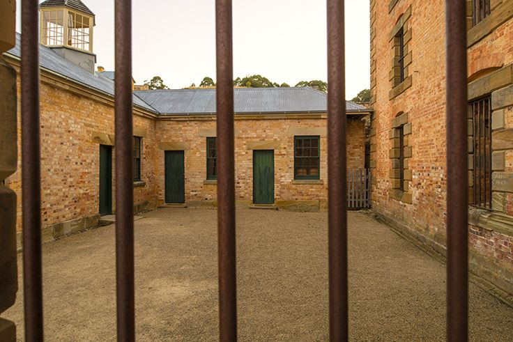 Conditions behind bars were harsh and unforgiving at Port Arthur (Tourism Tasmania & Rob Burnett) #UniqueTassie @discovertas