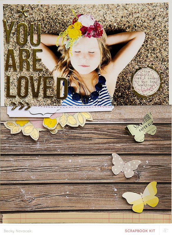 you are loved - color by beckynovacek at @studio_calico - 8.5x11 layout