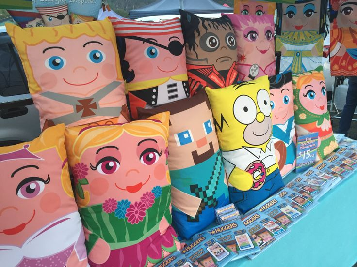 Hero Hugger MYSTERY BAG 3 Assorted Character Pillowcovers by HeroHuggers on Etsy