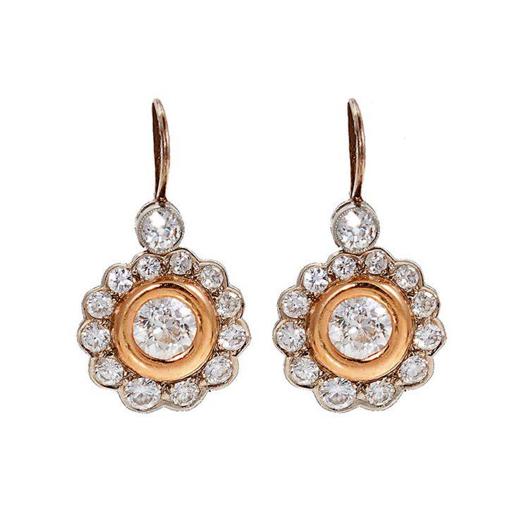 49 best Diamond Earrings images on Pinterest | Earrings, Piercing ...
