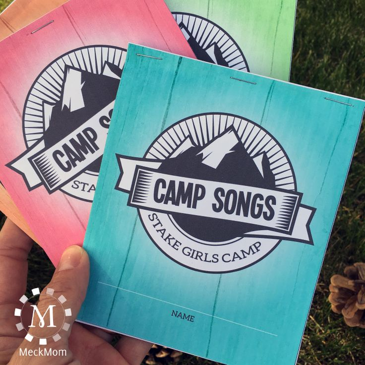 The ultimate guide to the best girls camp songs out there! The perfect printable set for your YW to assemble at mutual. Buy once and print as many copies as you need for camp.