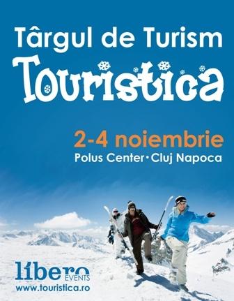 Targul de Turism Touristica, 2-4 noiembrie 2012, Cluj Napoca, Polus Center