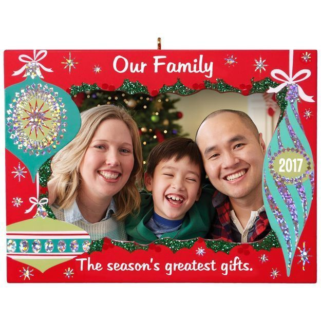 Details About Our Family Greatest Gifts Picture Frame 2017