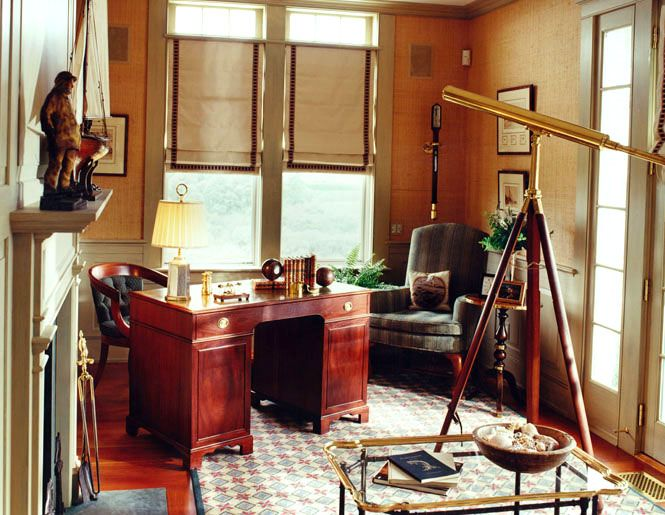 An Office Full Of Old World Charm Seaworthy
