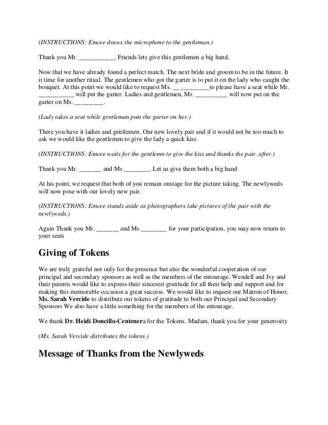 Hawaiian Wedding Ceremony Script – Bernit Bridal