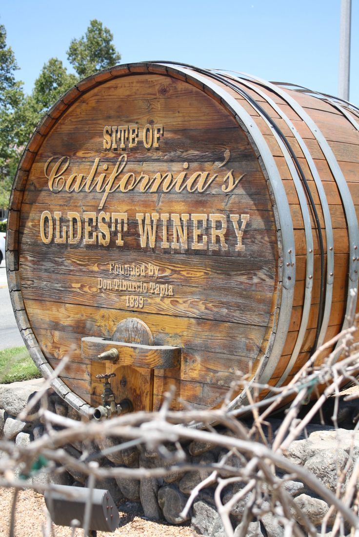 Site of Thomas Winery - California's Oldest Winery in Rancho Cucamonga. #route66