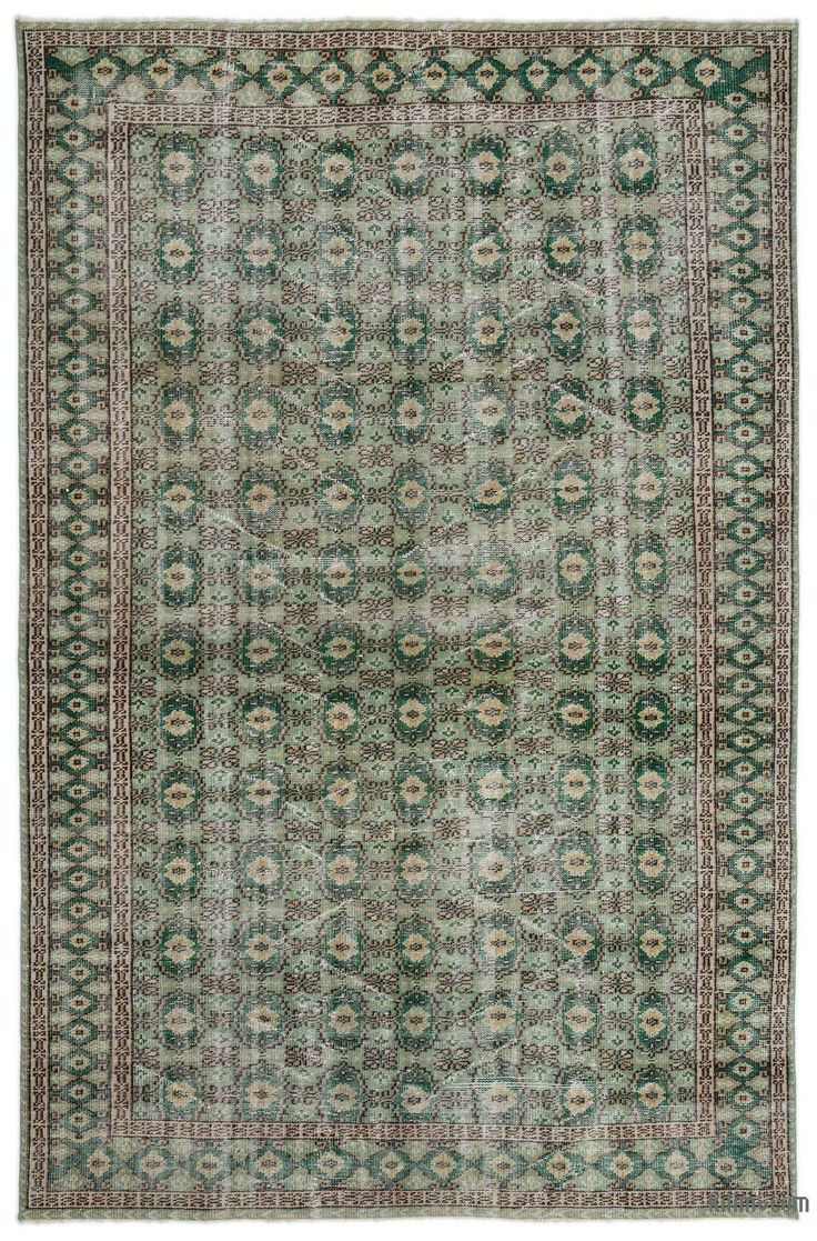 K0019421 Turkish Vintage Rug | Kilim Rugs, Overdyed Vintage Rugs, Hand-made Turkish Rugs, Patchwork Carpets by Kilim.com