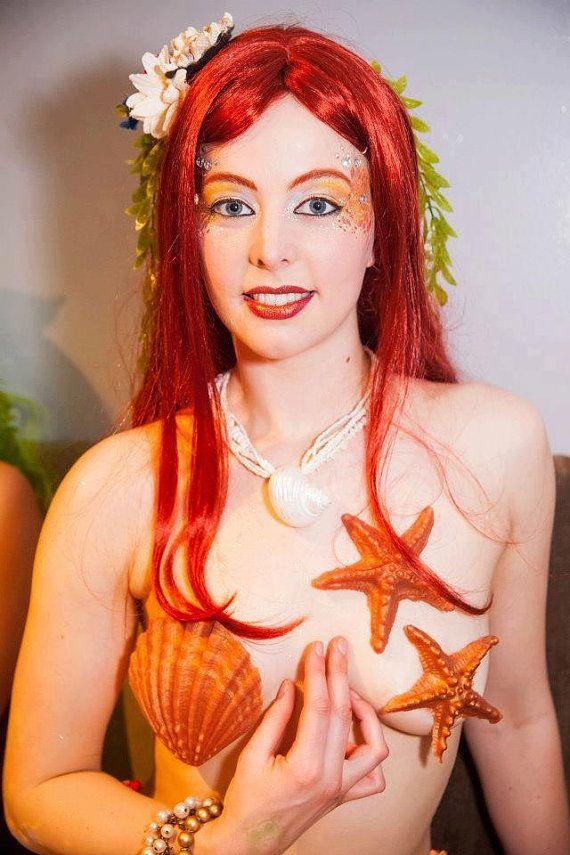 Mermaid pasties | halloween | Pinterest