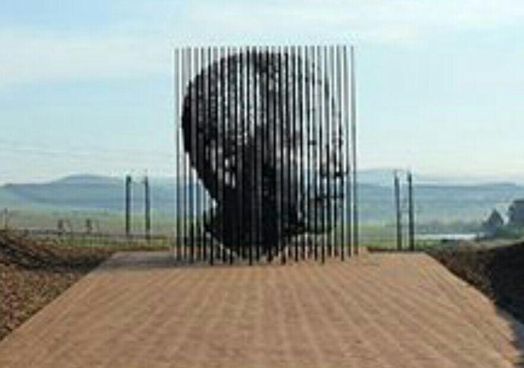 Escultura de Mandela