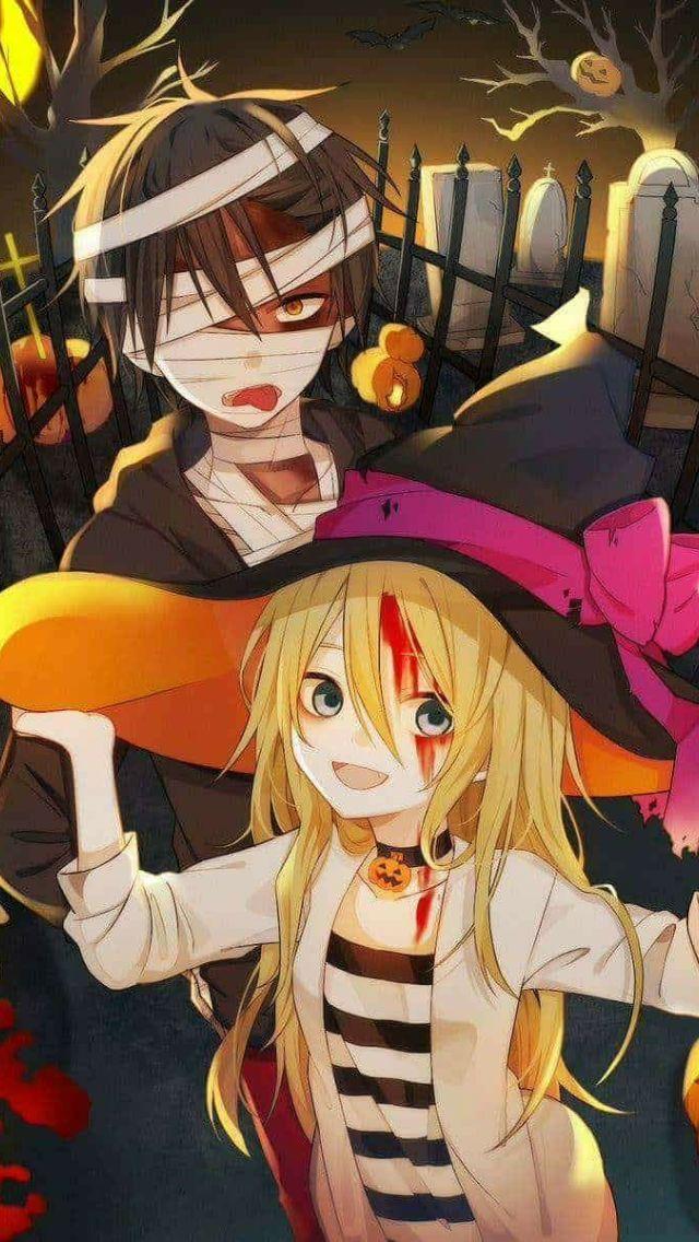 Añadir Pin de imagen Angel of death, Anime halloween, Anime