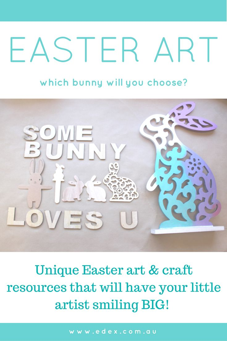 Fun and easy to create Easter art and craft ideas for at home or in the classroom!