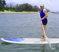 Stand-up paddling  WHEN: Sunday, February 15, 2015, 8 – 9am COST: $5 BOOKINGS REQUIRED - Please phone Surf Connect on 3137 0500 to reserve your place. MEETING POINT: Surf Connect Watersports Centre REQUIREMENTS: Able to swim, bring a towel and spare clothes, wear togs or clothes that you don't mind getting wet. AGE	12+ VENUE: Arthur Davis Park VENUE ADDRESS: Flinders Parade, Sandgate NOTE:	 Qualified instructors will teach you the basic skills. All equipment provided.