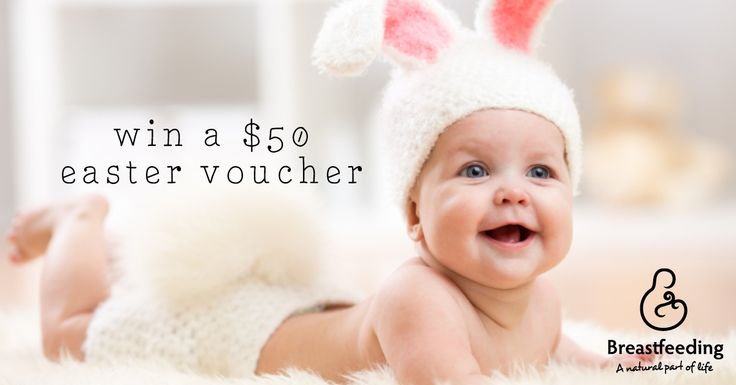 Easter Mum & Baby Cover photo competition!  Enter here: http://woobox.com/q4bvjh to be in to win a $50 grocery voucher and feature on the cover of Breastfeedingnz's Facebook page! The winner will be announced and contacted on 28 March 2016. Happy Easter and happy snapping