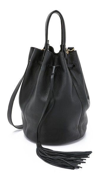 Madewell Tassel Bucket Bag: