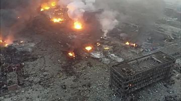 China Tianjin blasts: Evacuation of residents ordered