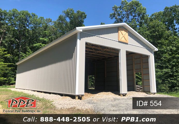 Long Pole Barn Pole Buildings Garage Design Siding Colors