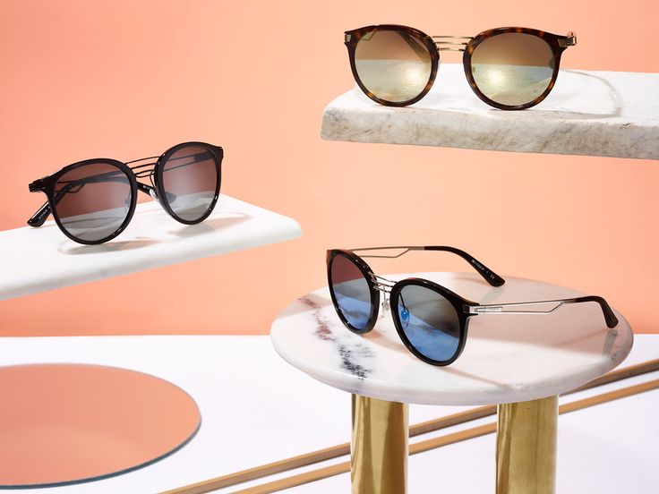 Perfectly poised is now in at Vogue Eyewear.