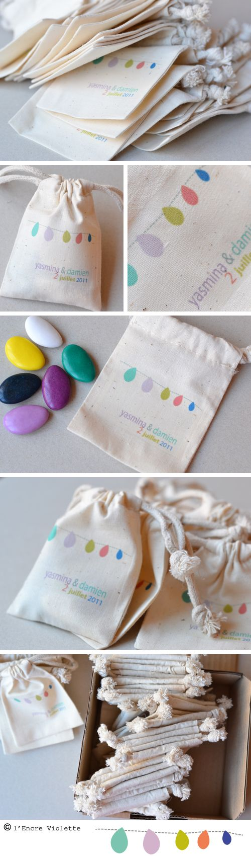 Cute bags. Craft for egg-stravaganza using colors of the wordless book for the rocks.