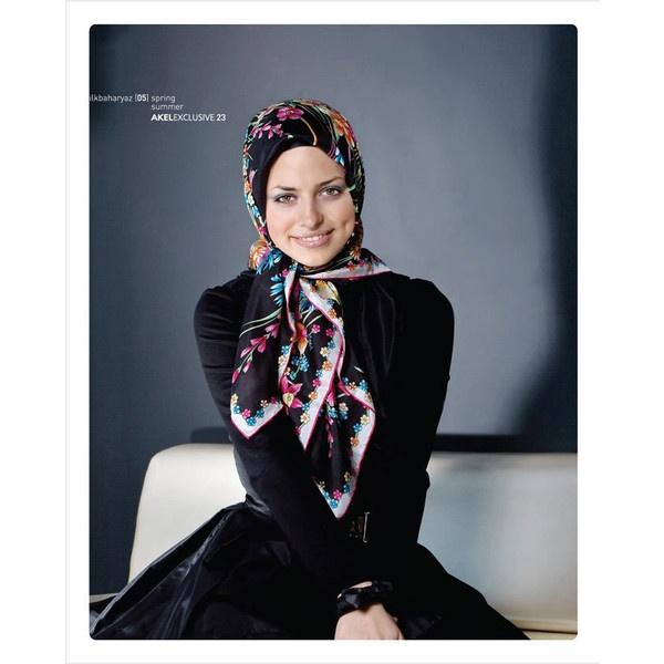 Akel Eşarp - Tesettür Giyim | www. sumeyyediyari.com Sümeyye Diyarı ❤ liked on Polyvore