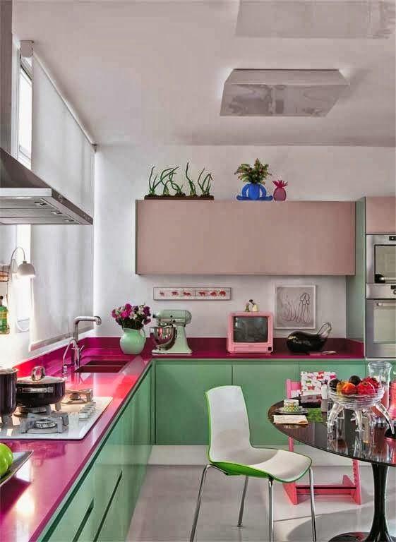 nane yeşili  modern mutfak