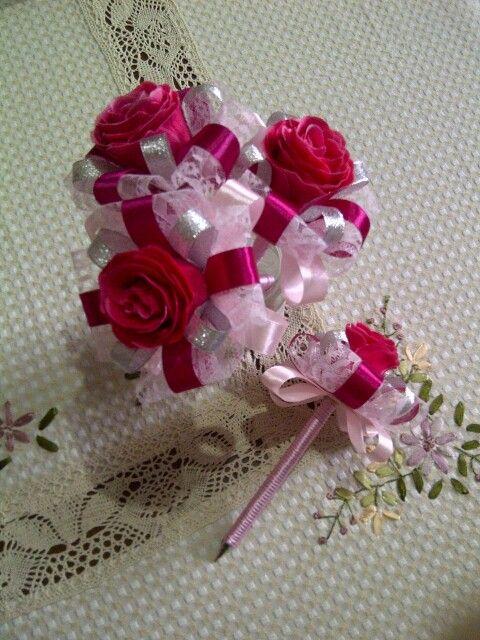 Flamboyante roses pen