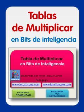 Tablas de multiplicar recopilatorio de materiales interactivos para trabajar en nuestras clases ideales para PDI