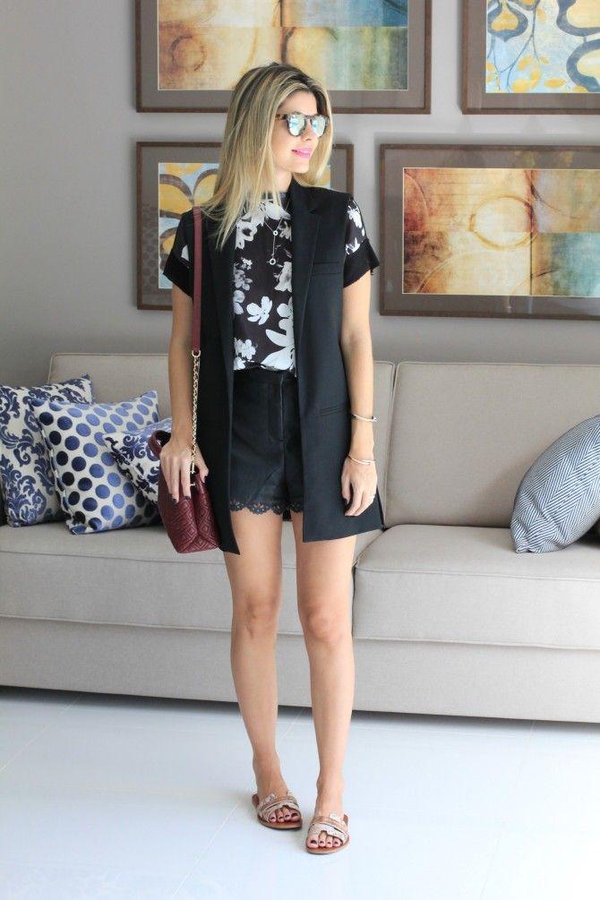 Look – Colete    por Carol Tognon | Carol Tognon       - http://modatrade.com.br/look-a-colete