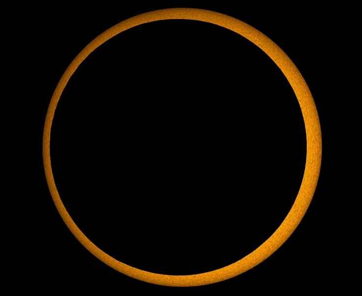This safely filtered telescopic picture was taken during the annular eclipse of January 15, 2010 from the city of Kanyakumari at the southern tip of India.
