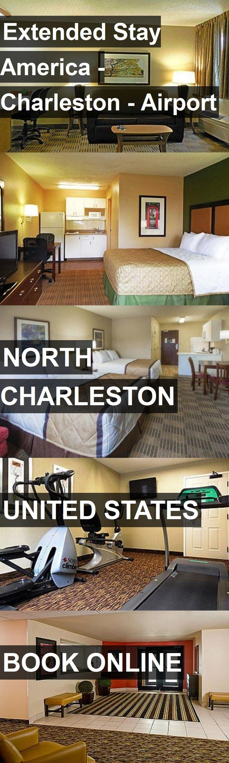 Hotel Extended Stay America - Charleston - Airport in North Charleston, United States. For more information, photos, reviews and best prices please follow the link. #UnitedStates #NorthCharleston #ExtendedStayAmerica-Charleston-Airport #hotel #travel #vacation
