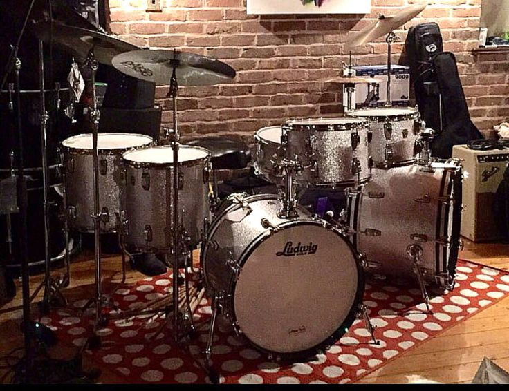 Ludwig/Silver Sparkle