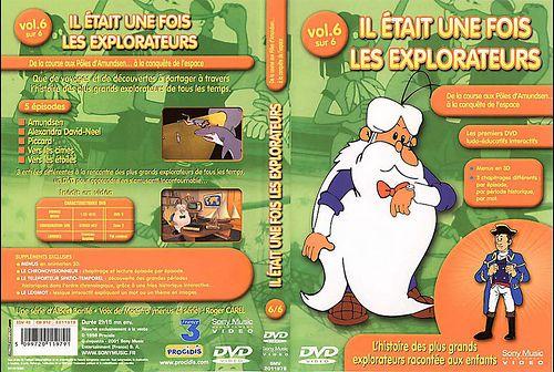 il etait une fois les explorateurs - Dvd Volume 06